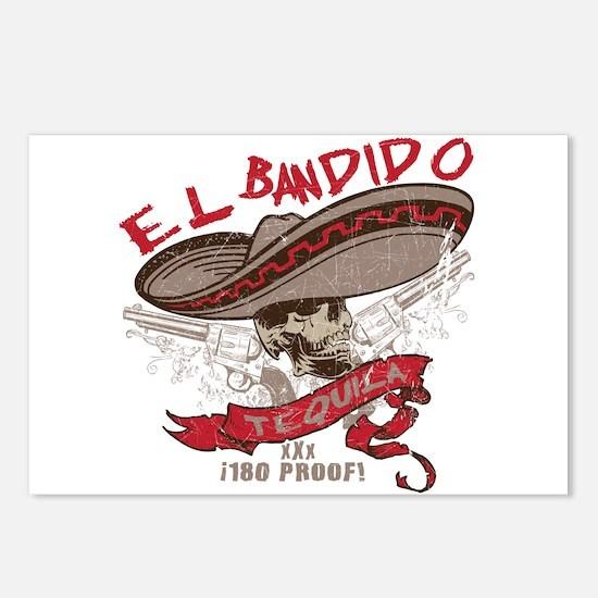 El Bandido Tequila Postcards (Package of 8)