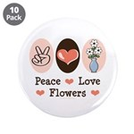 Peace Love Flowers 3.5