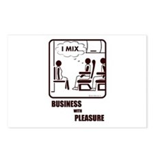 *NEW DESIGN* I MIX BUSINESS AND PLEASURE Postcards