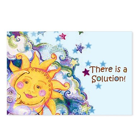 There is a Solution Postcards (Package of 8)