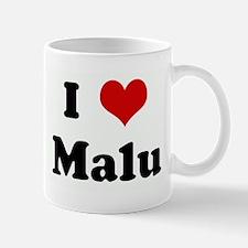 I Love Malu Mug