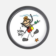 I Scuba Dive Wall Clock