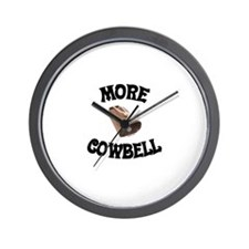 More Cowbell! (as seen on Barely Famous) Wall Cloc