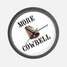 More Cowbell (from Barely Famous) Wall Clock