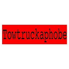 Towtruckaphobe Bumper Bumper Sticker
