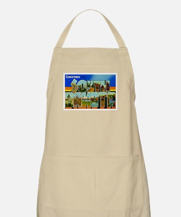 South Dakota SD BBQ Apron