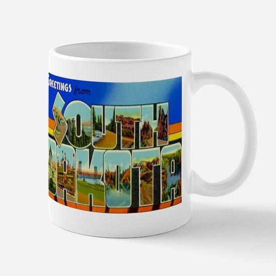 South Dakota SD Mug