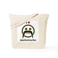 I heart Molestache! Tote Bag