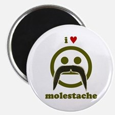 I heart Molestache! Magnet