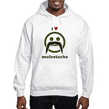 I heart Molestache! Hoodie
