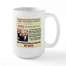 born in 1991 birthday gift Mug