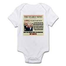 born in 1991 birthday gift Infant Bodysuit
