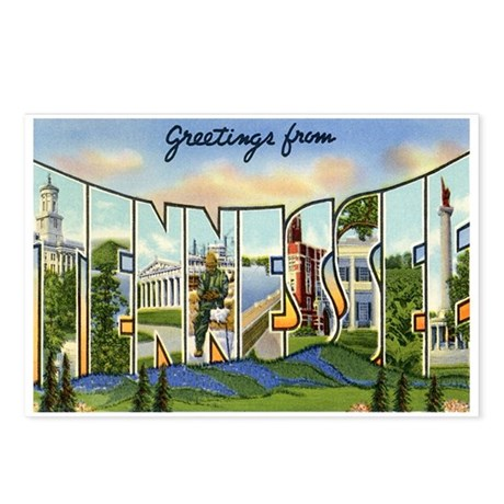 Tennessee TN Postcards (Package of 8)