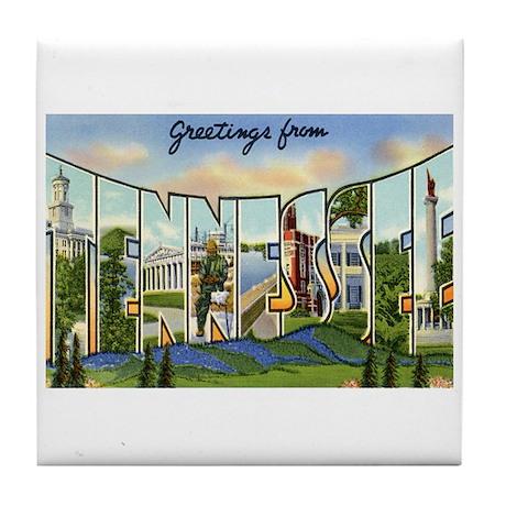 Tennessee TN Tile Coaster