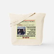 1992-birth Tote Bag