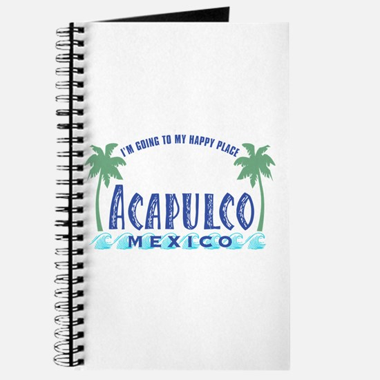 Acapulco Happy Place Journal