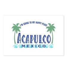 Acapulco Happy Place Postcards (Package of 8)