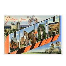 Utah UT Postcards (Package of 8)