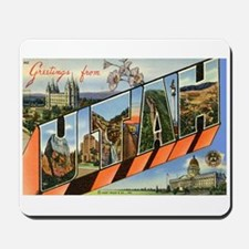 Utah UT Mousepad