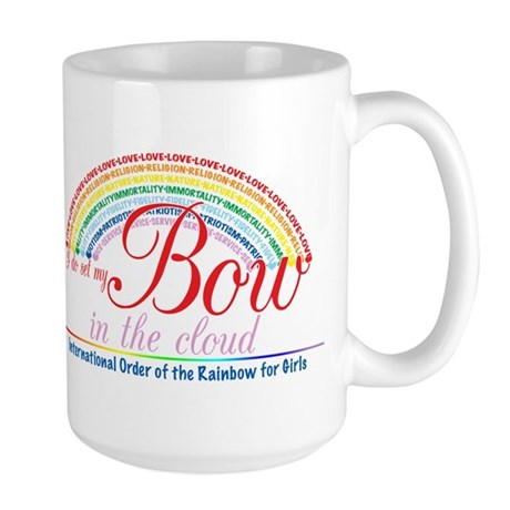IORG-Bow in the Cloud Large Mug