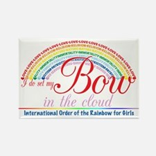 IORG-Bow in the Cloud Rectangle Magnet (10 pack)