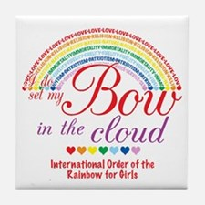 IORG-Bow in the Cloud Tile Coaster