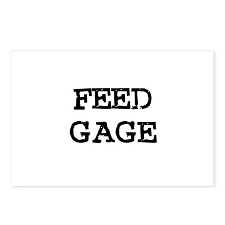 Feed Gage Postcards (Package of 8)