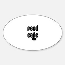 Feed Gage Oval Decal