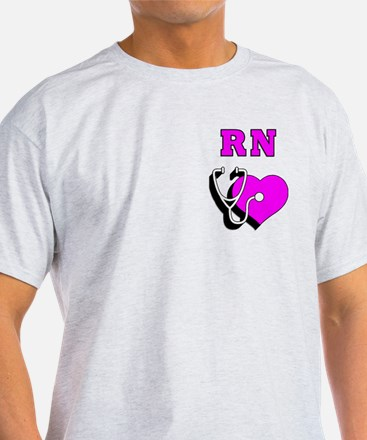 RN Nurses Care T-Shirt
