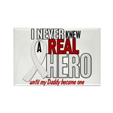 Never Knew A Hero 2 PEARL (Daddy) Rectangle Magnet