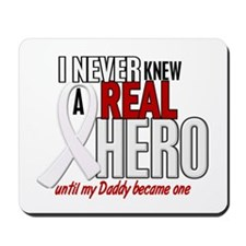 Never Knew A Hero 2 PEARL (Daddy) Mousepad