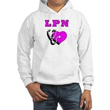 LPN Nurses Care Jumper Hoody