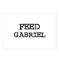 Feed Gabriel Postcards (Package of 8)