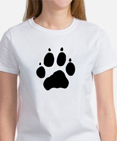 Wolf Paw Women's T-Shirt