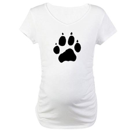Wolf Paw Maternity T-Shirt