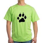 Wolf Paw Green T-Shirt