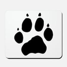 Wolf Paw Mousepad