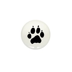 Wolf Paw Mini Button (100 pack)