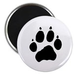 Wolf Paw Magnet