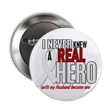 """Never Knew A Hero 2 PEARL (Husband) 2.25"""" Button"""