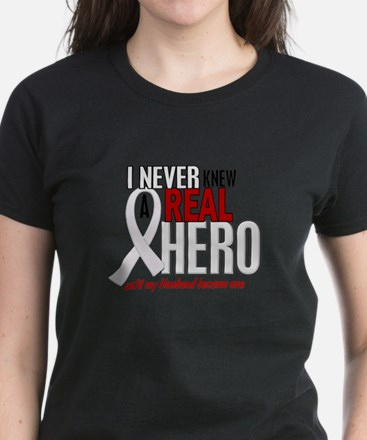 Never Knew A Hero 2 PEARL (Husband) Women's Dark T