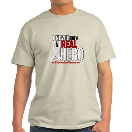 Never Knew A Hero 2 PEARL (Husband) Light T-Shirt