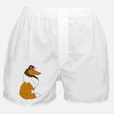 Sable Rough Collie Boxer Shorts