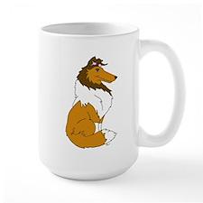 Sable Rough Collie Mug