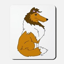 Sable Rough Collie Mousepad