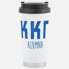 Kappa Kappa Gamma Alumn Stainless Steel Travel Mug