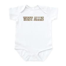 west allis (western) Infant Bodysuit