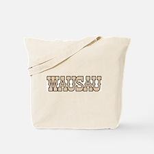 wausau (western) Tote Bag