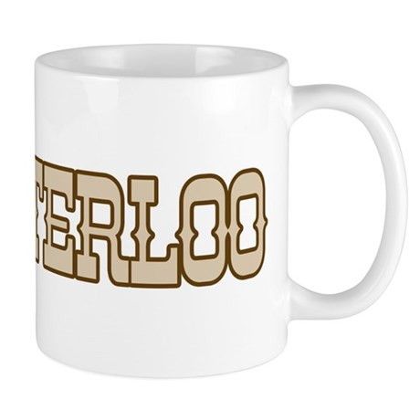 waterloo (western) Mug