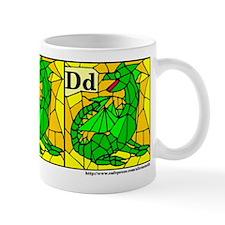 D is for Dragon Mug